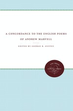 A Concordance to the English Poems of Andrew Marvell