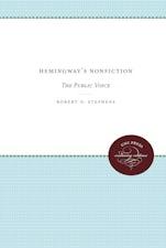 Hemingway's Nonfiction