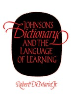 Johnson's Dictionary and the Language of Learning