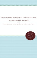 The Southern Humanities Conference and Its Constituent Societies