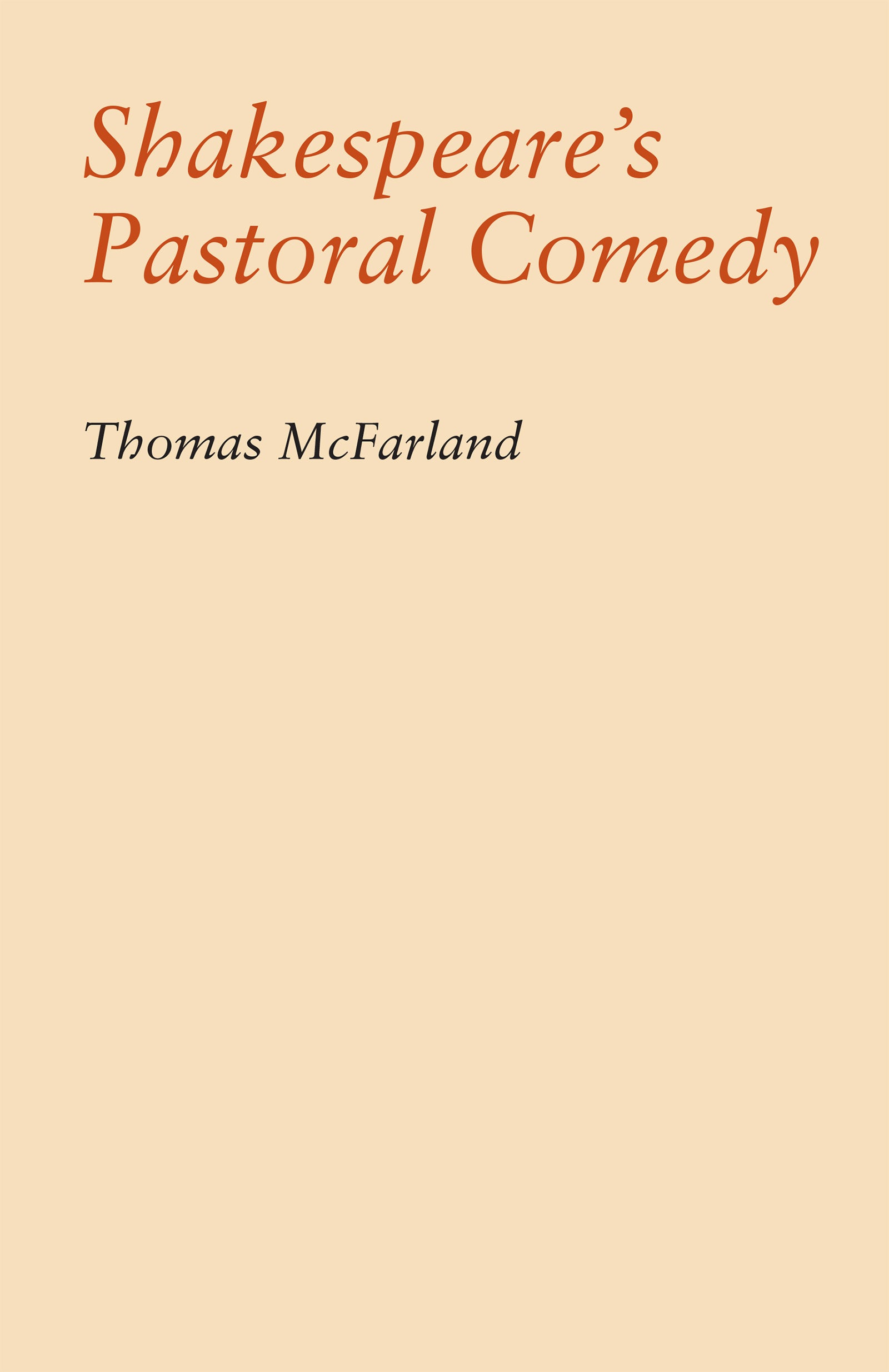 as you like it as a pastoral comedy pdf