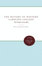 The History of Western Carolina College