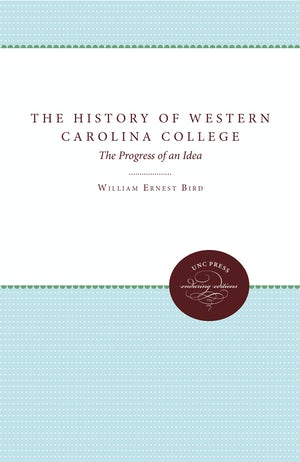 The History of Western Carolina College