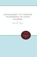 Supplement to Foreign Enterprise in India