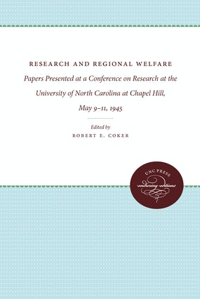 Research and Regional Welfare