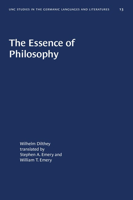 The Essence of Philosophy