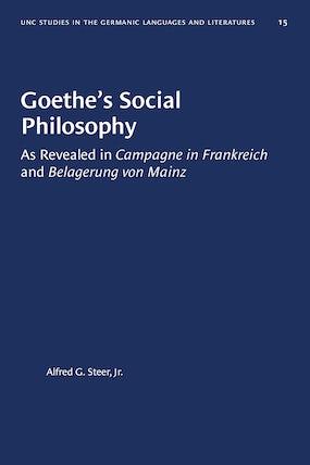 Goethe's Social Philosophy
