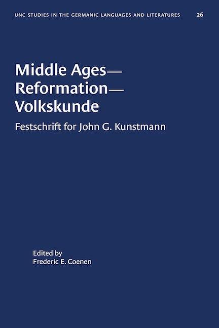 Middle Ages--Reformation--Volkskunde