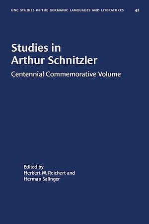 Studies in Arthur Schnitzler