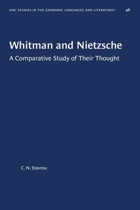 Whitman and Nietzsche