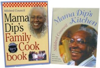 Mama Dip's Cookbooks, Two-Volume Set