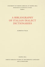 A Bibliography of Italian Dialect Dictionaries