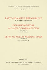 Studies in the Romance Languages and Literatures