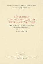 Un Répertoire chronologique de lettres de Voltaire