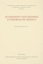 Academias y Sociedades Literarias de México