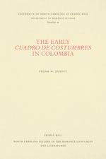 The Early Cuadro de costumbres in Colombia