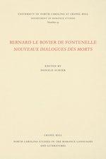 Bernard le Bovier de Fontenelle Nouveaux Dialogues des Morts