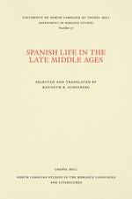 Spanish Life in the Late Middle Ages