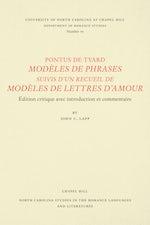 Pontus de Tyard, Modèles de phrases suivis d'un recueil de modèles de lettres d'amour