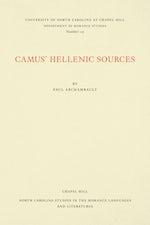 Camus' Hellenic Sources