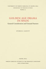 Golden Age Drama in Spain