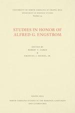Studies in Honor of Alfred G. Engstrom