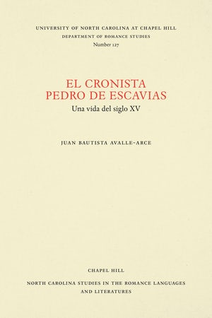 El cronista Pedro de Escavias