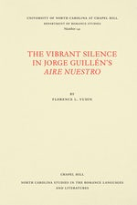 The Vibrant Silence in Jorge Guillén's Aire nuestro