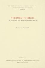 Studies in Tirso