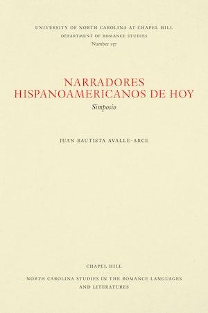 Narradores hispanoamericanos de hoy
