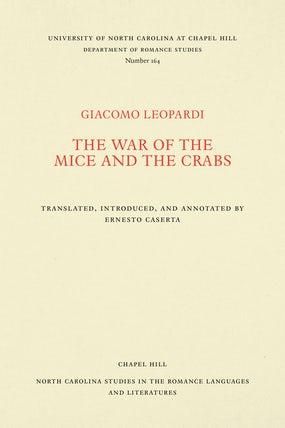 The War of the Mice and the Crabs