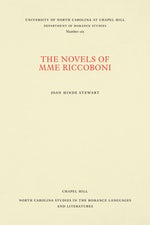 The Novels of Mme Riccoboni