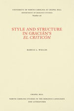 Style and Structure in Gracián's El Criticón