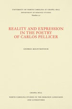 Reality and Expression in the Poetry of Carlos Pellicer