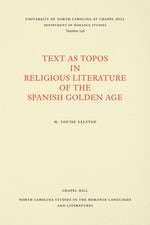 Text As Topos in Religious Literature of the Spanish Golden Age