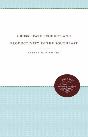 Gross State Product and Productivity in the Southeast