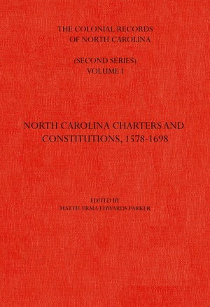 The Colonial Records of North Carolina, Volume 1
