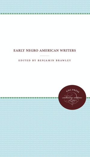 Early Negro American Writers