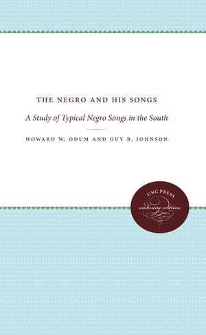 The Negro and His Songs