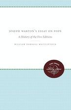 Joseph Warton's Essay on Pope