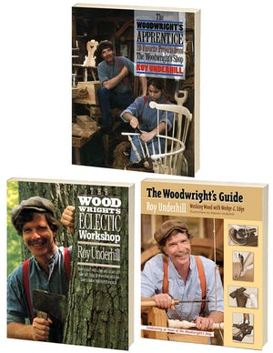More of Roy Underhill's The Woodwright's Shop Classic Collection, Omnibus Ebook