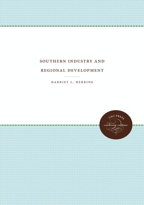 Southern Industry and Regional Development