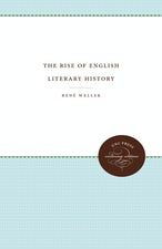 The Rise of English Literary History