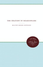 The Oration in Shakespeare