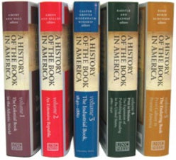 A History of the Book in America (5 volume set)