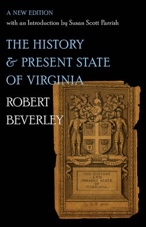 The History and Present State of Virginia