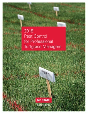 2018 Pest Control for Professional Turfgrass Managers