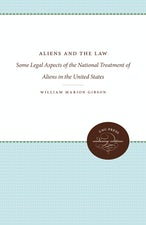 Aliens and the Law