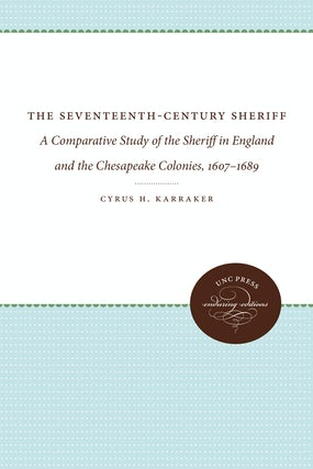 The Seventeenth-Century Sheriff