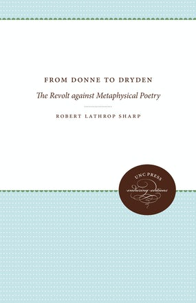 From Donne to Dryden